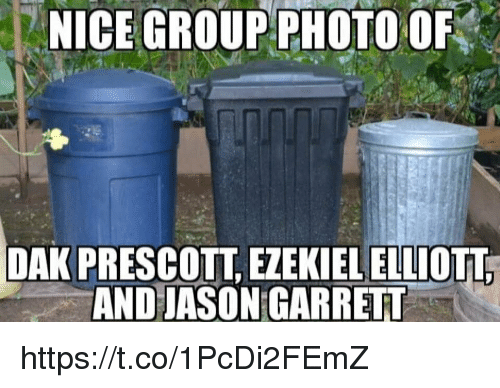 ezekiel-elliott: NICE  GROUP  PHOTO  OF  DAK PRESCOTT, EZEKIEL ELLIOTT  AND JASON GARRET https://t.co/1PcDi2FEmZ