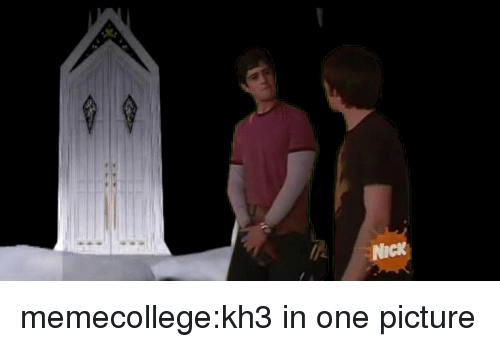 kh3: Nick memecollege:kh3 in one picture