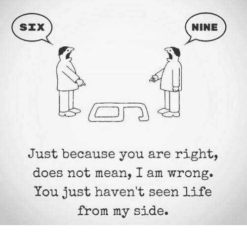 nine six just because you are right does not mean 7403965 🔥 25 best memes about memes memes, meme generator,Just Right Meme Generator