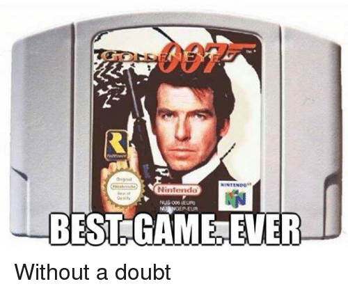 Doubt: Nintendo  BEST GAME EVER Without a doubt