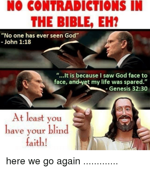 no contradictions in the bible