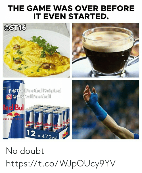 Doubt: No doubt https://t.co/WJpOUcy9YV