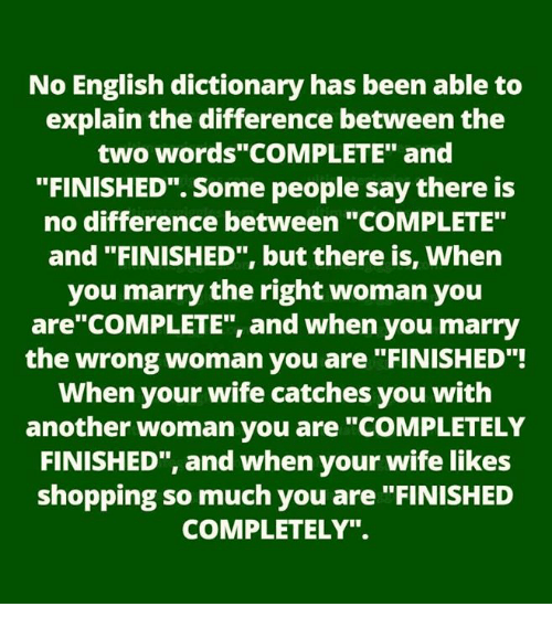 No English Dictionary Has Been Able To Explain The Difference Between The Two Words -3974