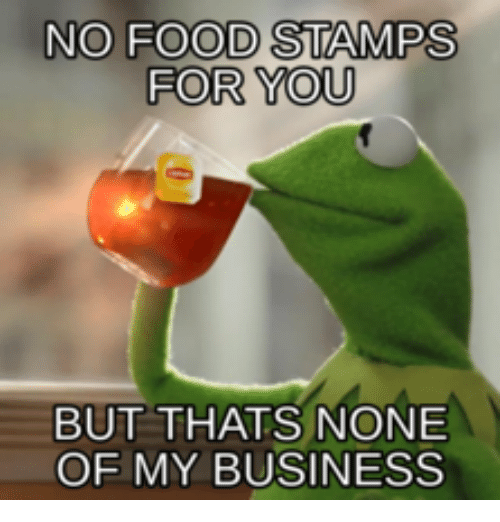 Trump No Job No Food Stamps