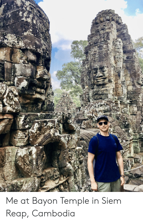 siem: NO Me at Bayon Temple in Siem Reap, Cambodia