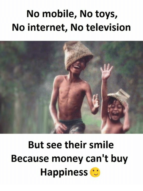 No No Toys : No mobile toys internet television but see their