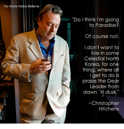 christopher hitchens north korea essay Love, poverty, and war: journeys and essays (nation books) [christopher hitchens] whether he's reporting from abroad in indonesia, kurdistan, iraq, north korea.