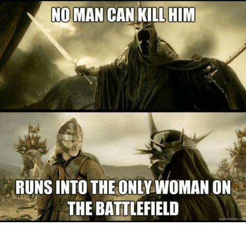 Battlefield: NOMAN CAN KILL HIM  RUNS INTO THEONLY WOMAN ON  THE BATTLEFIELD