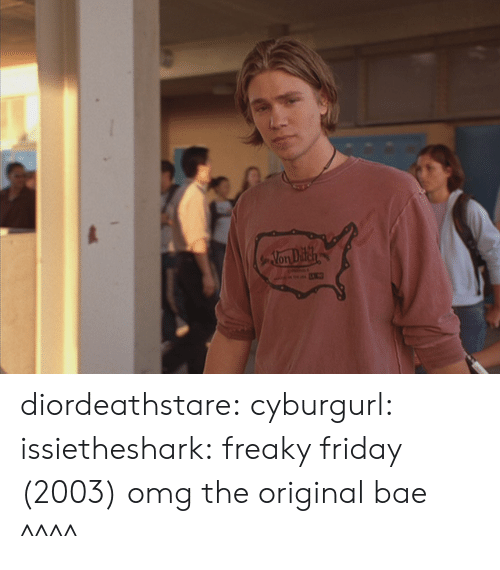 Bae, Friday, and Omg: Non Difeh diordeathstare:  cyburgurl:  issietheshark:  freaky friday (2003)  omg the original bae  ^^^^