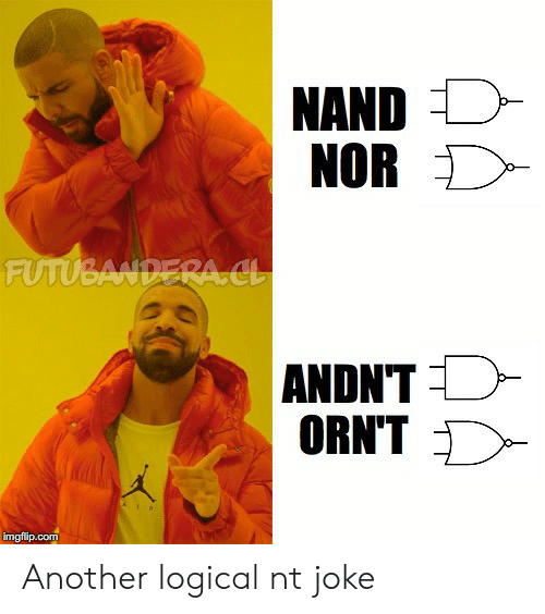 Nord: NORD  FUTUBA  ANDNT  ORNT  imgfilip.com Another logical nt joke
