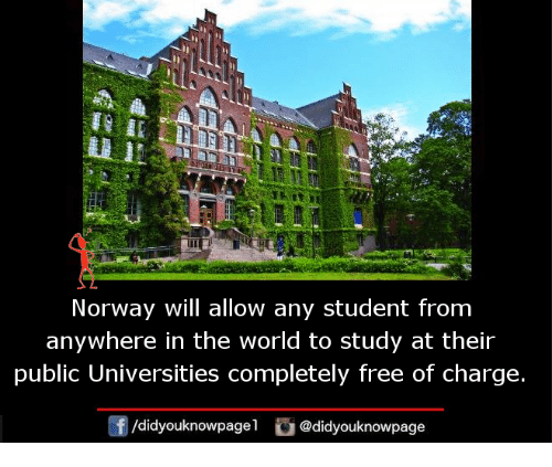 Study at norway