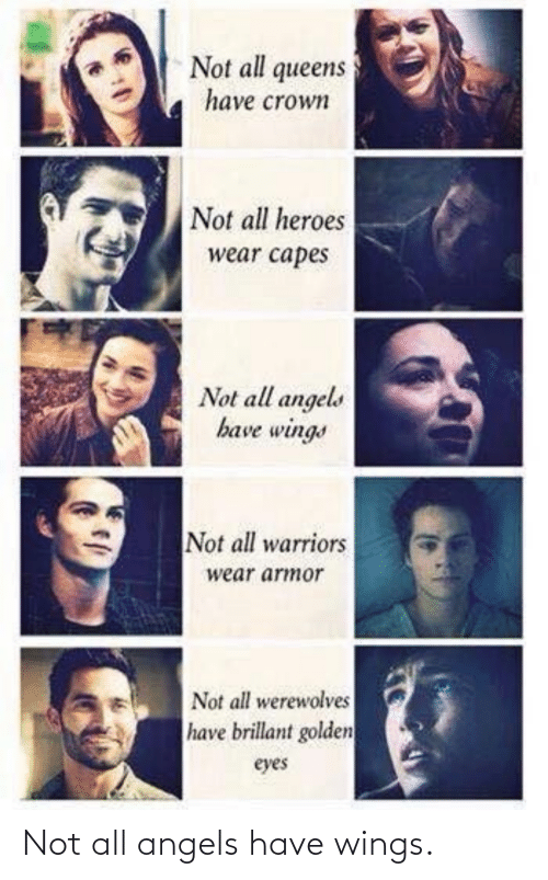 Im 14 & This Is Deep: Not all angels have wings.