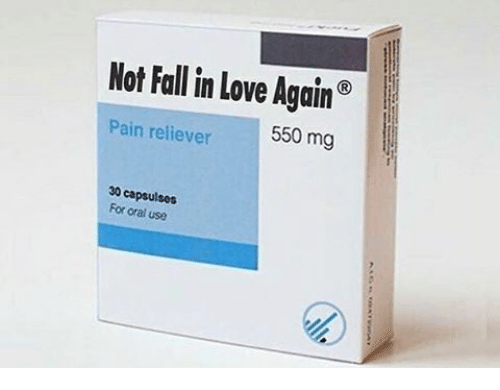 orally: Not Fall in Love Again  n reliever  550 mg  30 For oral use