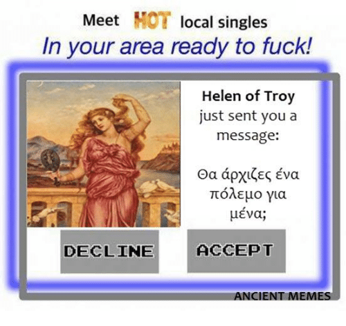 meet local singles in your area