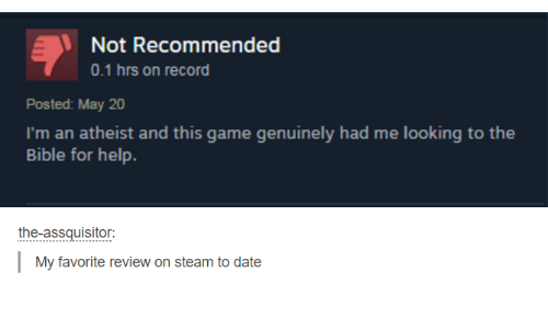 Help With Game Review?
