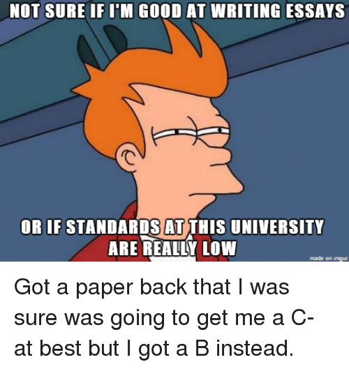 not good at writing essays