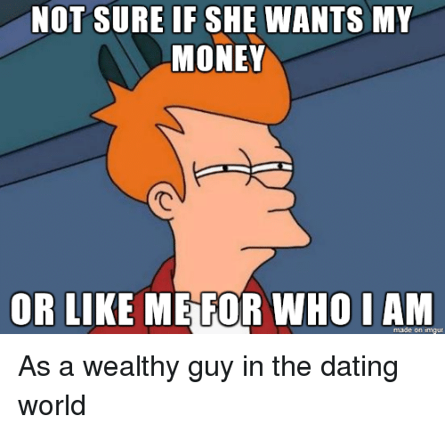 Dating a man who makes less money