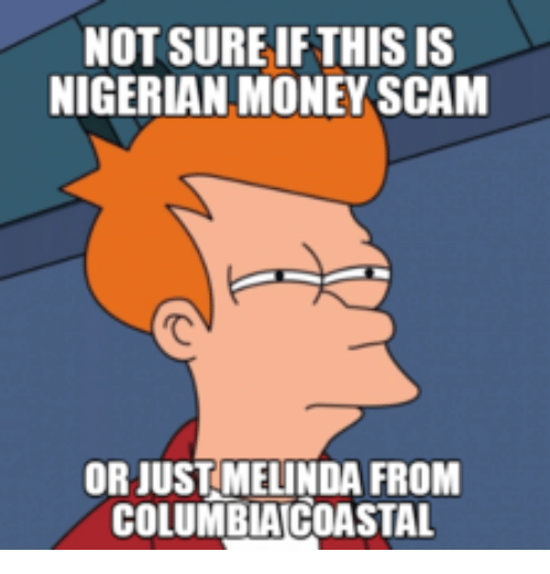 nigerian scamming Common fraud schemes  nigerian letter frauds combine the threat of impersonation fraud with a variation of an advance fee scheme in which a letter mailed,.