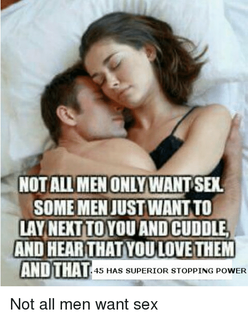 people who want sex