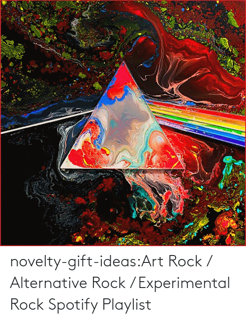 experimental: novelty-gift-ideas:Art Rock / Alternative Rock / Experimental Rock Spotify Playlist