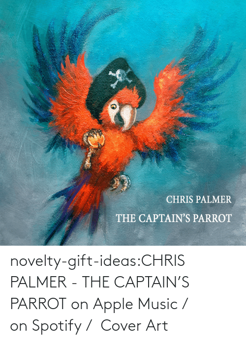 album: novelty-gift-ideas:CHRIS PALMER - THE CAPTAIN'S PARROT on Apple Music /  on Spotify /  Cover Art