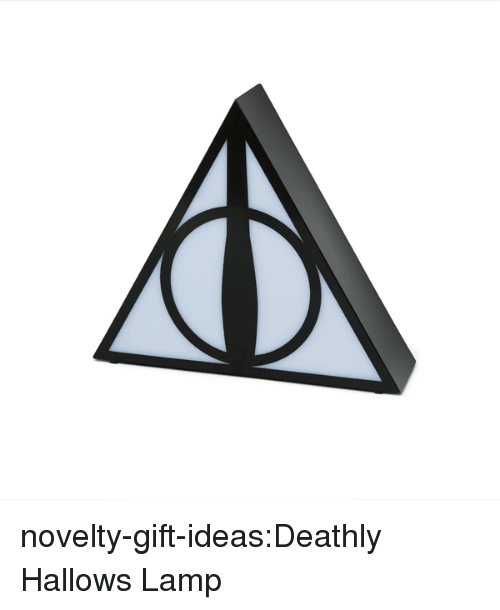 Harry Potter, Tumblr, and Blog: novelty-gift-ideas:Deathly Hallows Lamp