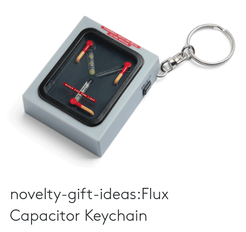flux: novelty-gift-ideas:Flux Capacitor Keychain