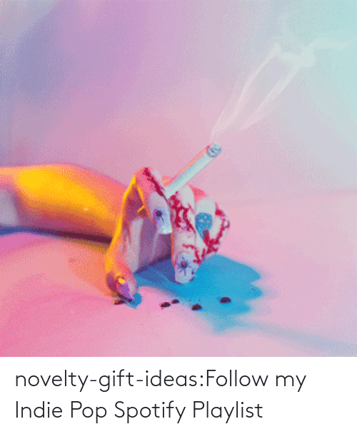 open: novelty-gift-ideas:Follow my Indie Pop Spotify Playlist