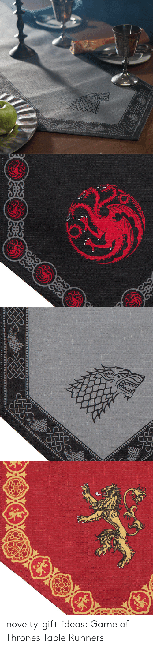 thrones: novelty-gift-ideas:  Game of Thrones Table Runners