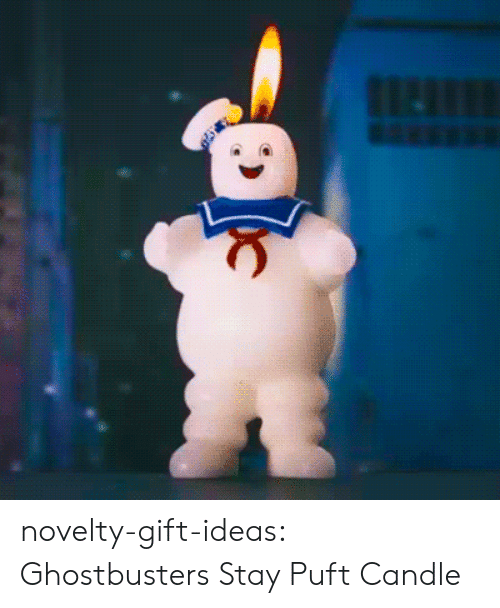 Ghostbusters: novelty-gift-ideas:    Ghostbusters Stay Puft Candle