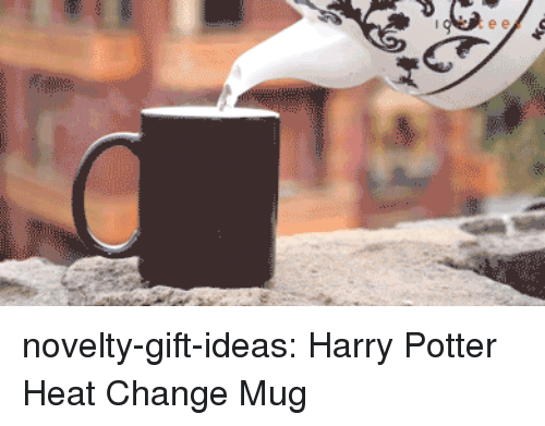 Harry Potter, Tumblr, and Blog: novelty-gift-ideas:  Harry Potter Heat Change Mug