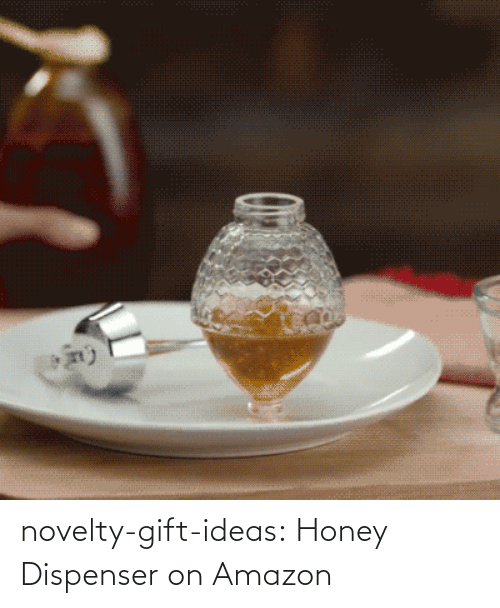 honey: novelty-gift-ideas:  Honey Dispenser on Amazon