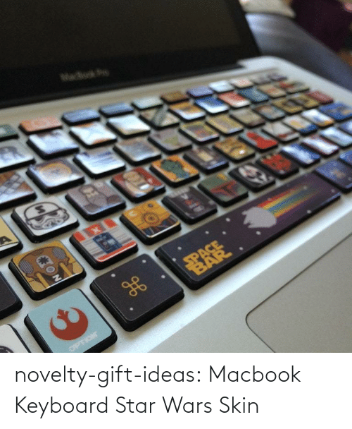 skin: novelty-gift-ideas:  Macbook Keyboard Star Wars Skin