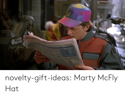 mcfly: novelty-gift-ideas:  Marty McFly Hat