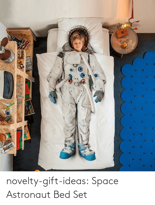 bed: novelty-gift-ideas:  Space Astronaut Bed Set