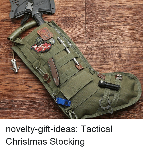 Tactical: novelty-gift-ideas:  Tactical Christmas Stocking
