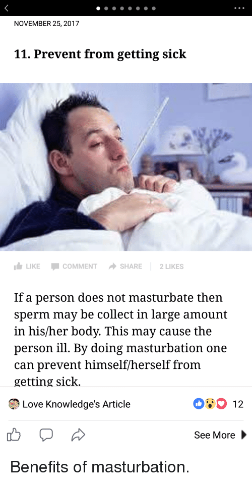 Necessary can you get sick from sperm about
