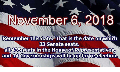 November 6 2018 Remember This Date That Is the Date on ...