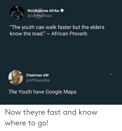 Theyre: Now theyre fast and know where to go!