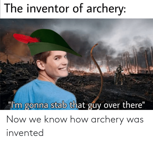 archery: Now we know how archery was invented