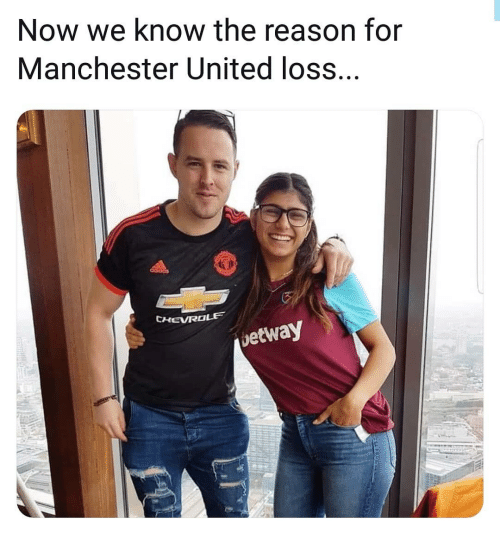 Manchester United: Now we know the reason for  Manchester United loss.  CHEVROLE  etway