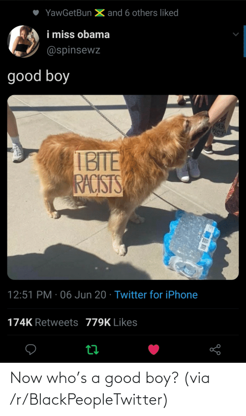 R Blackpeopletwitter: Now who's a good boy? (via /r/BlackPeopleTwitter)