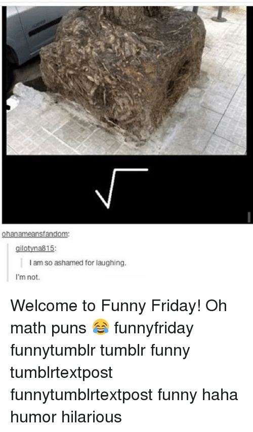Friday, Funny, and Memes: nsf  gilotyna815:  am so ashamed for laughing.  I'm not. Welcome to Funny Friday! Oh math puns 😂 funnyfriday funnytumblr tumblr funny tumblrtextpost funnytumblrtextpost funny haha humor hilarious