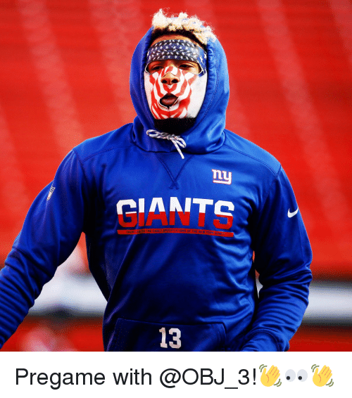 Memes, 🤖, and Cia: ny  CIA MITC  THE EXACT SPECIFICATIONS OF THE  NEW YOR  13 Pregame with @OBJ_3!👋👀👋