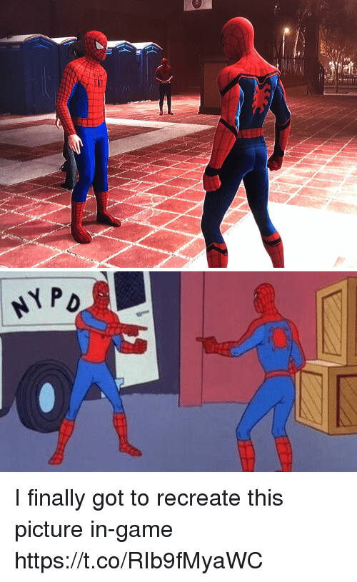 Funny, Game, and Got: NYP I finally got to recreate this picture in-game https://t.co/RIb9fMyaWC