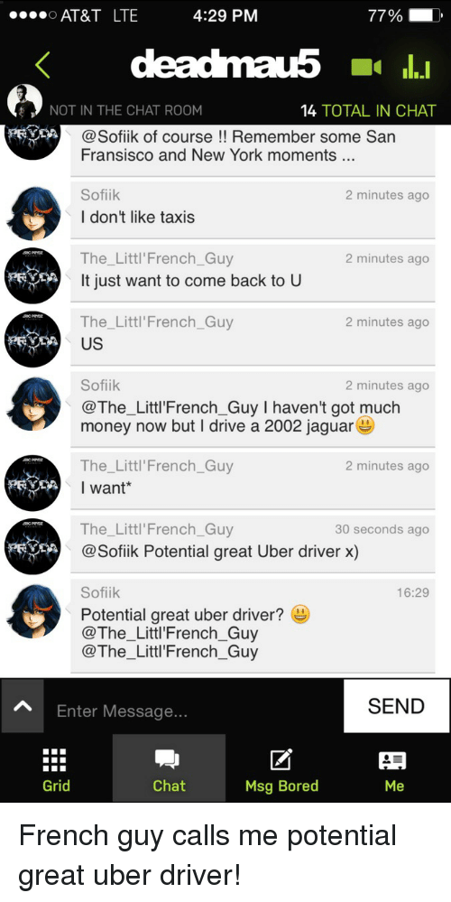 Uber Driver Chat Room