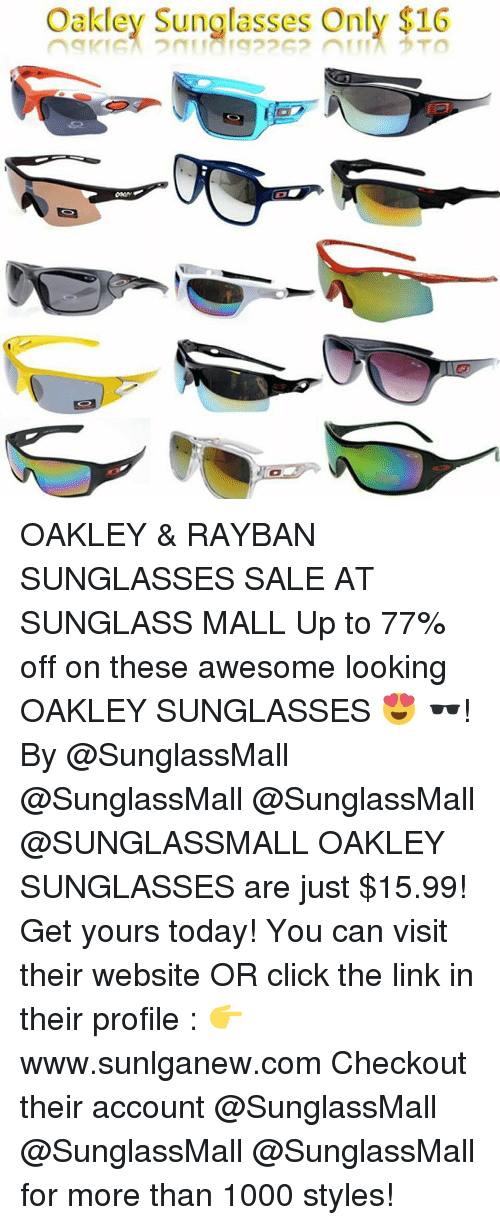 oakley sunglasses sale today only  click, sports, and ups: oakley sunglasses only $16 oakley & rayban sunglasses sale