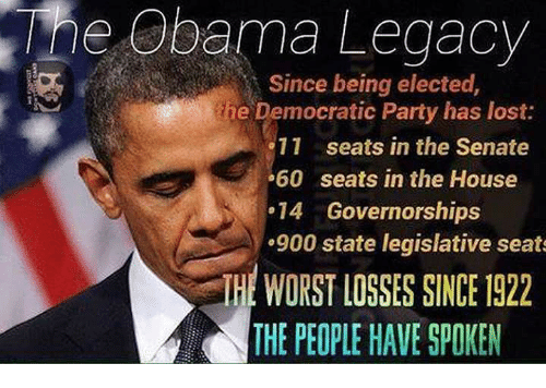 Image result for democratic party losses state and federal
