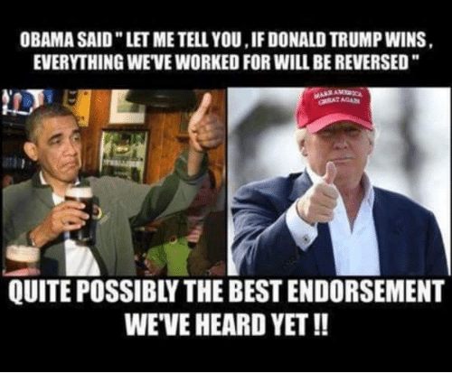 Funny Memes If Donald Trump Wins : Funny donald trump and obama memes of on sizzle