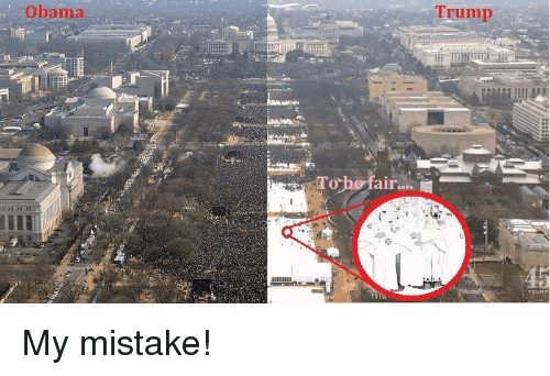 Im Going To Hell For This: Obama  To he fair.  Trump My mistake!